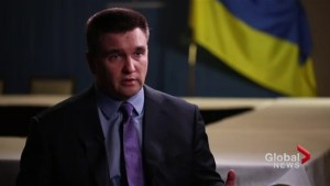 More help needed to fight Russian threats: Klimkin