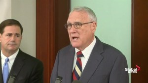 Former Senator John Kyl chosen to replace John McCain in the Senate
