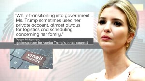Ivanka Trump used private email for government work, reports say