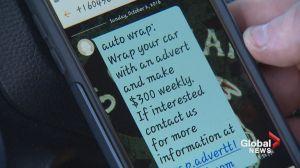 Beware of 'car wrap' easy money scam