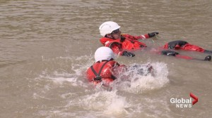 Lethbridge Fire Department completes water rescue training