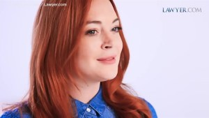 Lindsay Lohan revealed as the new spokesperson of Lawyer.com
