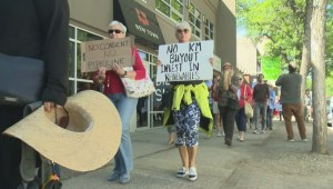 Okanagan residents join Canadians across the country to speak out against the federal government's decision to spend billions on the Kinder Morgan pipeline