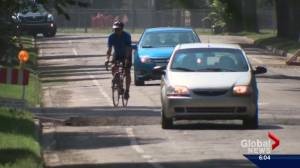 Incident involving racial slur spurs call for civility between drivers and cyclists (02:00)