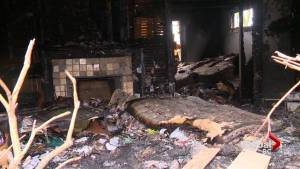 Vacant Vancouver home engulfed by flames