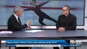 Patrick Chan retires at 27