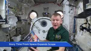 'Story Time From Space' expands children's literacy program