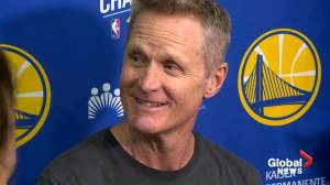 Steve Kerr not worried about Drake, says he 'called him on his cellphone'