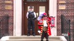 Town crier announces birth of royal baby boy for William and Kate