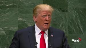 Trump tells UN his administration has accomplished more than 'almost' any other administration ever