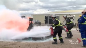 Sask. mining rescue crews showcase skills in annual competition