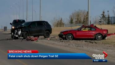Speed a factor in fatal head-on crash on Peigan Trail: police