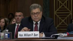 Barr: Trump trying to prevent criticism of himself 'isn't a crime'