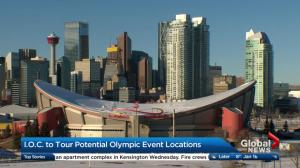 IOC to tour potential Olympic event locations in Calgary