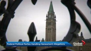 Canada's federal political parties handling sexual harassment allegations
