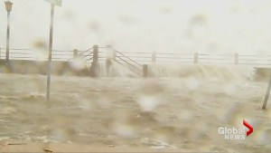 Tropical Storm Irma pounds South Carolina coast