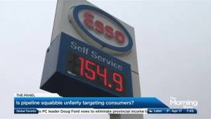 Are consumers being unfairly targeted in the Alberta/BC pipeline squabble? (05:17)