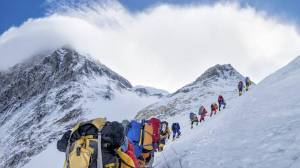 How climate change is changing Mount Everest