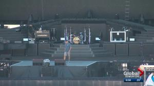 A look inside what it takes to prepare a stadium for a Guns N' Roses concert
