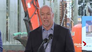 'They're going to get half as far as they would with LRT': John Horgan on Surrey SkyTrain expansion plan