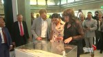 Prince Harry and Meghan Markle visit Nelson Mandela tribute in London