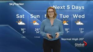 A look at your long weekend weather