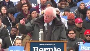 Bernie Sanders calls out Donald Trump for '$200,000 allowance'