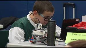 Robotics competition returns to St. Patrick Elementary School