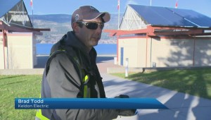 Smashed lights in Kelowna park will cost thousands of dollars to repair