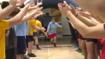 Special Olympians bask in the limelight during Motionball