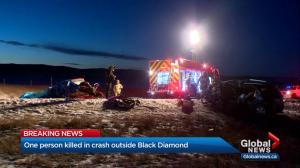 17-year-old girl dead, 2 critical after multi-vehicle crash on Hwy 7 near Black Diamond