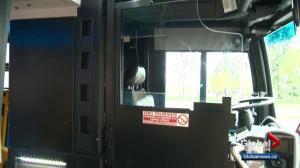 Safety shields coming to Edmonton transit buses