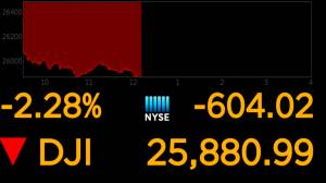 Global markets tumble as trade war between U.S., China continues to escalate