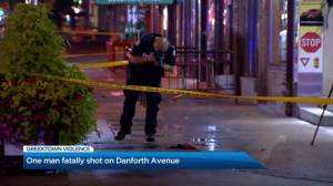 Suspect in custody after fatal shooting in Toronto's Greektown area