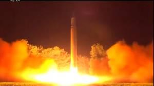 North Korea latest ballistic missile launch travels over 1000 KM