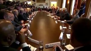 Trump holds rare bipartisan meeting on immigration