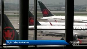 Air Canada passengers delayed, denied