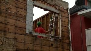Open House: Environmentally friendly concept of 'unbuilding' a home