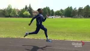 Tyreak Holgate looks to become Canada's next great sprinter