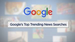 2018 Google Trends include Anthony Bourdain, Royal Wedding, Humboldt Broncos