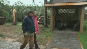 Cleanup underway after tornado touches down near Hanmore Lake