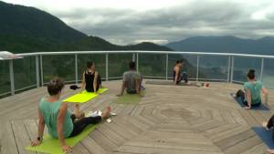 Sea to Sky Gondola offering yoga in the clouds