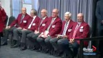 Calgary Booster Club holds red jacket ceremony for all past living Sportsman of the Year winners