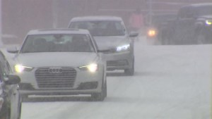 Wintry mix of snow, ice pellets and freezing rain hits Atlantic Canada