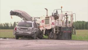 Man dies after collision in south shore construction zone (00:27)