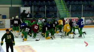 Nathan Oystrick steps down as Humboldt Broncos head coach (01:08)