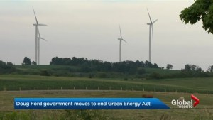 Ontario PC government introduces legislation to cut Green Energy Act