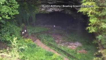 19 tourists rescued from flooded Kentucky cave after heavy