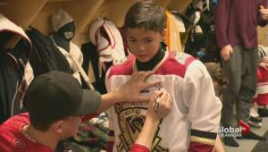 Warriors make Okanagan boy's dream come true
