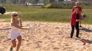 Beach tennis coming to a sand pit near you